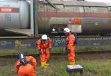 Подготовка газоспасательного звена к локализации ЧС