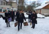 Прибытие в приют коллектива Брянского центра «ЭКОСПАС»